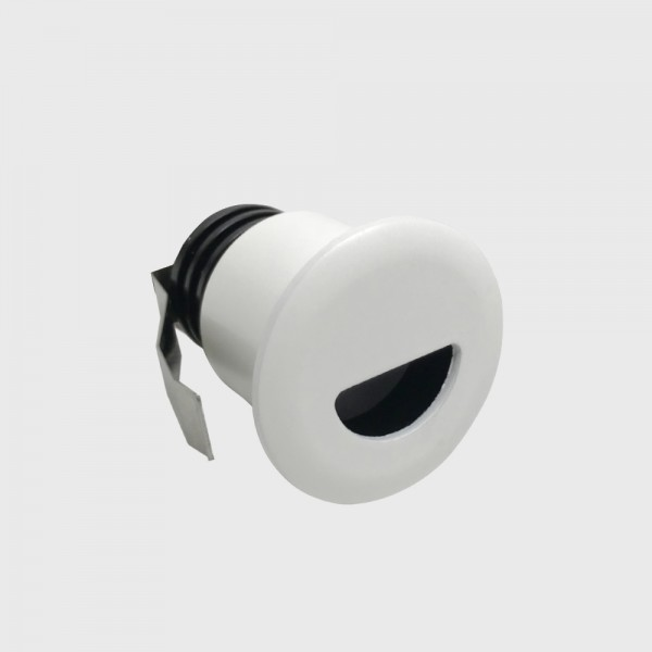 IN WALL R, D38mm, H53mm, LED 2,1W, 3000К, белый (01.3853.R2.830.WH)