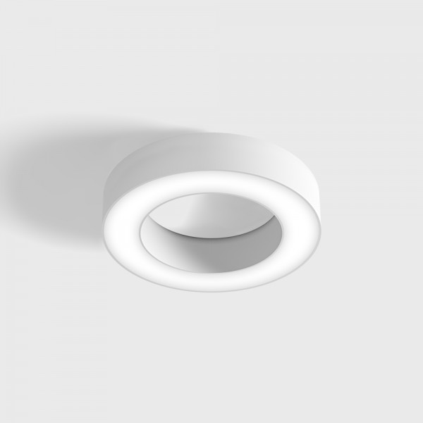 RING S, D250mm, H50mm, LED 14W, 3000К, белый (02.2500.14.930.WH)