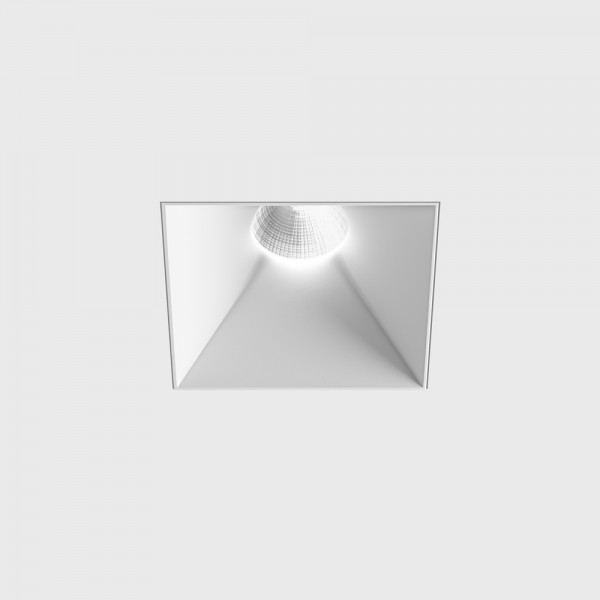 INVISIBLE Square, L110mm, W110mm, H105mm, LED 13W, 3000К, белый (01.2211.13.830.WH)