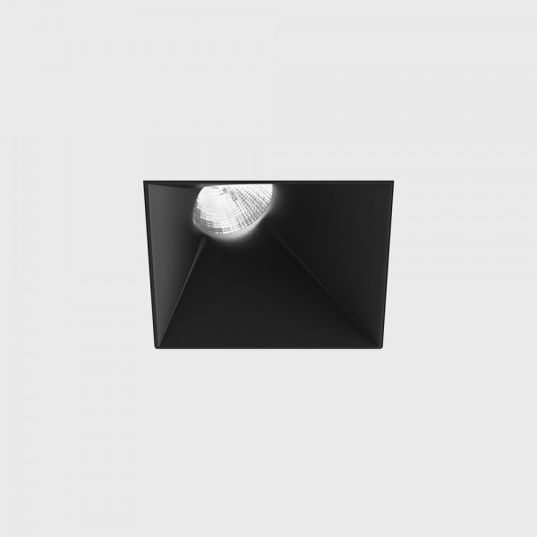 INVISIBLE SquareAssym, L110mm, W110mm, H117mm, LED 13W, 3000К, черный (01.2311.13.830.BK)