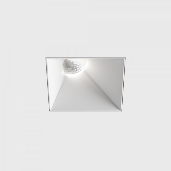 INVISIBLE_SquareAssym, L110mm, W110mm, H117mm, LED 13W, 3000К, белый (01.2311.13.830.WH)