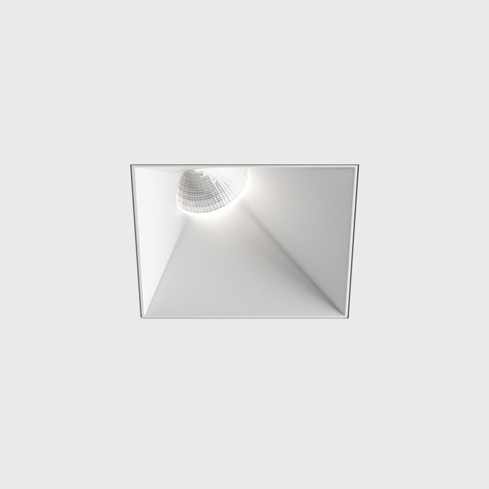 INVISIBLE SquareAssym, L110mm, W110mm, H117mm, LED 13W, 3000К, белый (01.2311.13.830.WH)